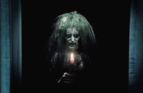 The Old Lady ghost was played by...