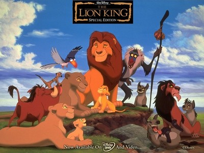 Who has only one sentence in the Lion King?
