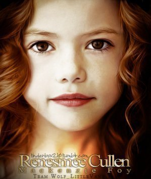Renesmee is fully grown when she is how old?