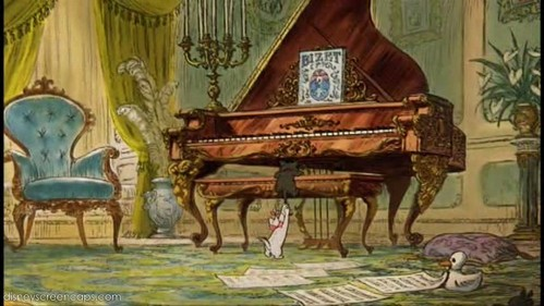 Which song is not played in The Aristocats original movieS?