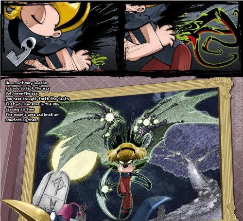 how did minnie get demon powers?