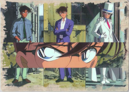 In OVA 6, Heiji thought that Kaitou Kid's shadow was a(n) __________.