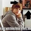 haha lolz I Really Wonder What He Was Watching!! JBsPURPLEluva photo