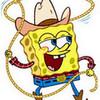 spongebob being a cowboy AJ303 photo