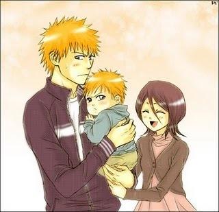 Ichigo And Rukia Baby ichigo and rukia children