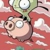 Gir on pig w99w99w photo