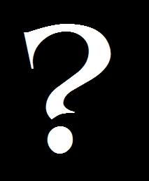Fanpop - 15blondCurtis's Photo: White Question Mark ...