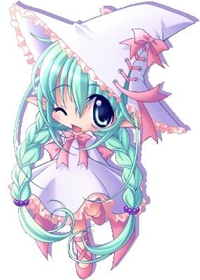 chibi anime girls fairy - photo #45