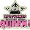 Well he calls me his Queen lolz! spunkyonyx photo