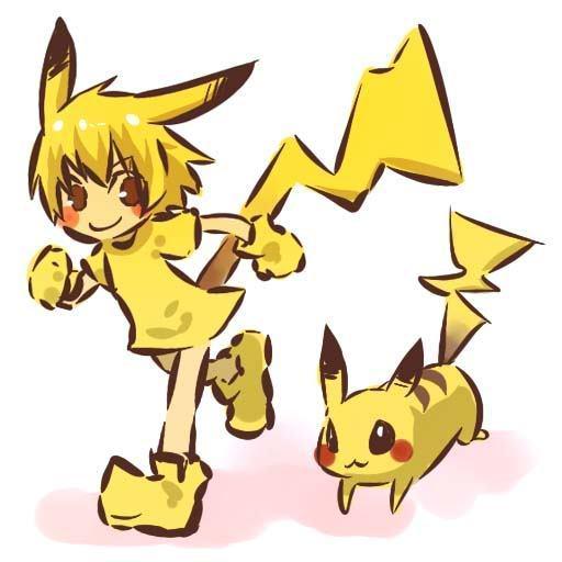 Fanpop - 11pikachu's Photo: pikachu human form