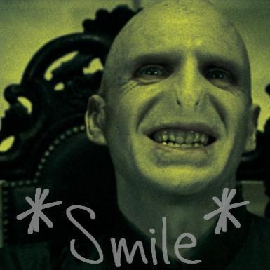 Voldemort Smile