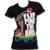 Купи Футболка Злые птицы, женская, с рисунком на передней части футболки...