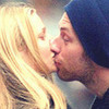 Chris Martin and Gwenyth Paltrow <3 Made by me Milah photo