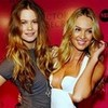 Candice Swanepoel and Behati Prinsloo Blondegirls photo