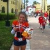 me with my goldfishies b4 worlds!! (cheer competition) Bieberobsessed photo
