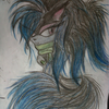 A drawing I did of Danni the wolf. Image credit: Goldilottes (C) Goldilottes photo