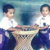 with muh twin brother back in 1993..;-) 120691 photo