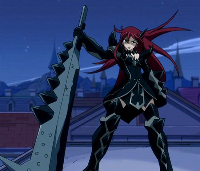 Erza--ScarletErza Scarlet Black Wing Armor Cosplay