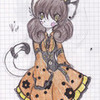 My new kitteh- Tamao  the Cat, drawn for me by Seuris Goldilottes photo