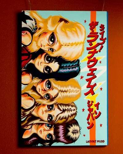 The Runaways Japan Art