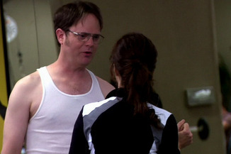 Dwight investigating Donna