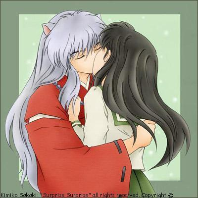 InuYasha and Kagome together