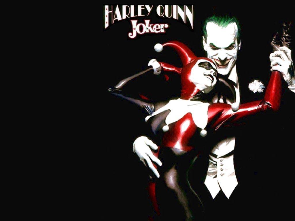 Joker and Harley the joker and harley quinn 14719527 1024 768