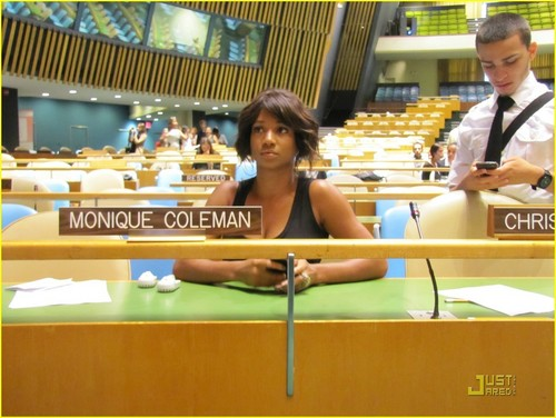 Monique Coleman Speaks at United Nations