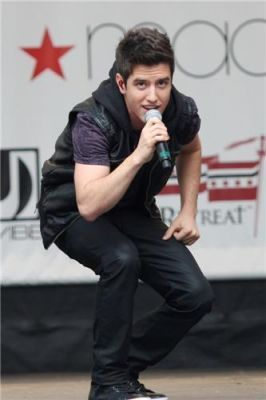 BTR @ Macys Celebration concierto