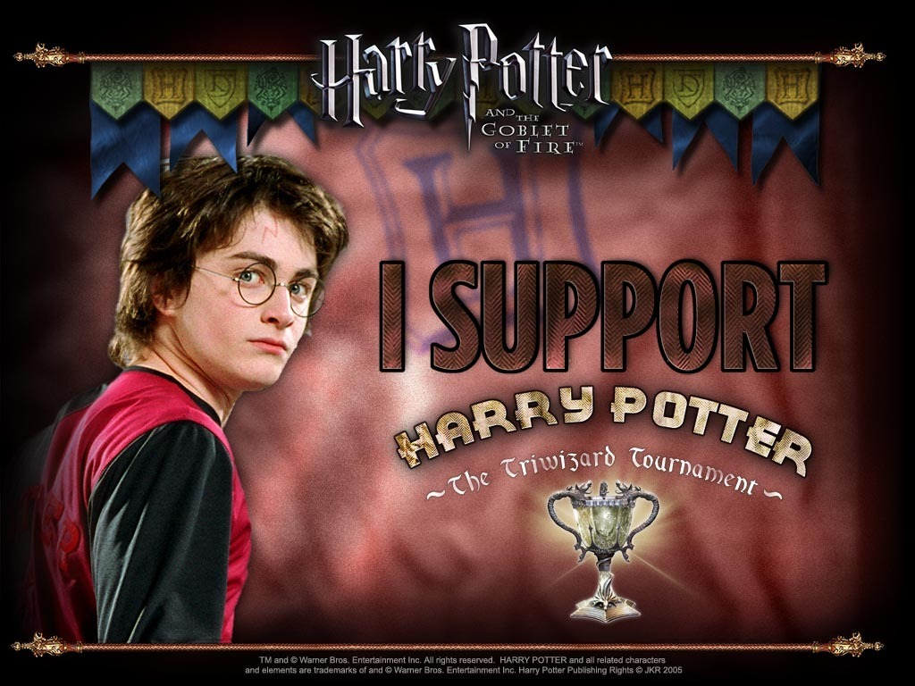 i support Harry Potter