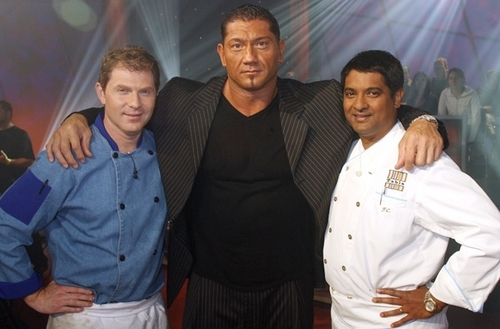 "batista on comida Network's ""Iron Chef America,"" September 2008"