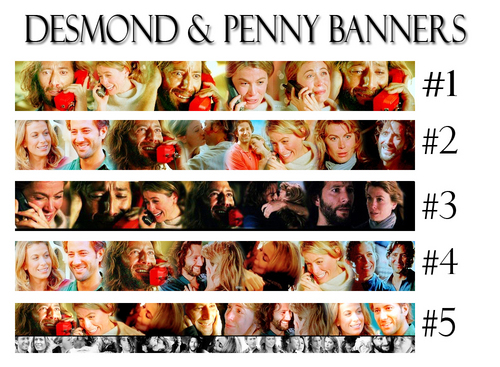Desmond & Penny Banners