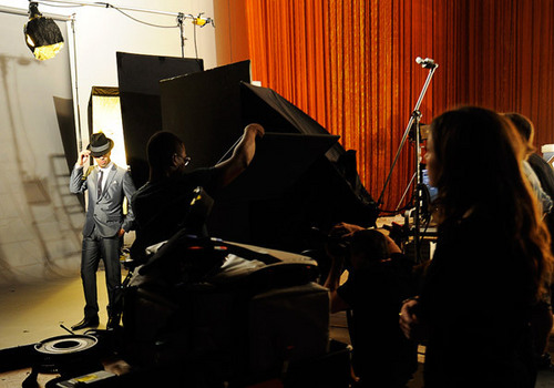 vịt đực, drake at the 2010 VMA promo shoot.