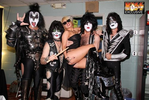 Gaga and Kiss