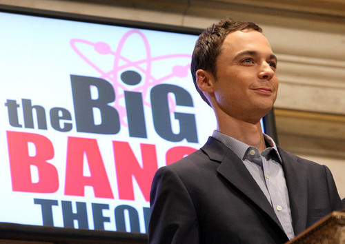 Jim Parsons Rings NYCE Opening Bell