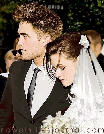 RobSten wedding