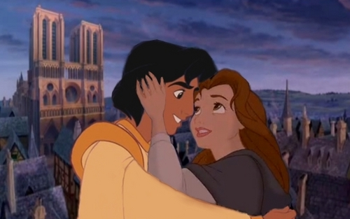 Belle and Aladdin <3