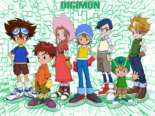 the digimon gang