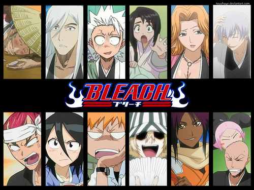 Bleach Funny Faces