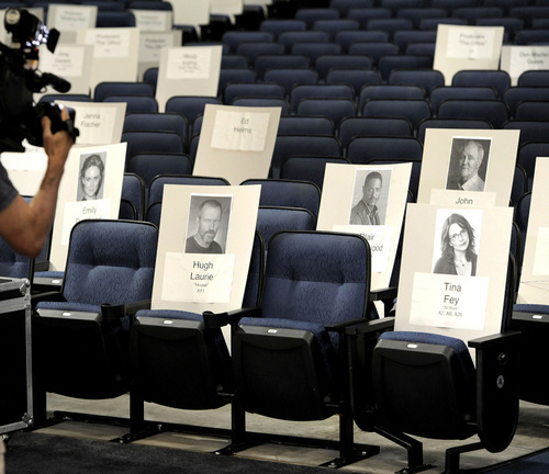 Emmy Awards Seating Chart