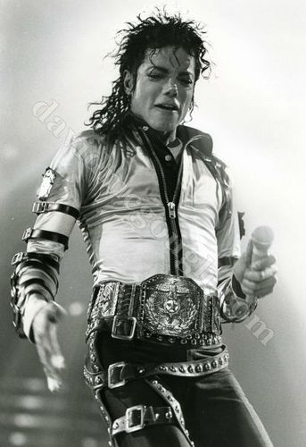 MJ Black & White
