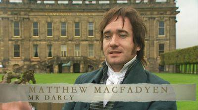 Matthew Macfadyen at backstage
