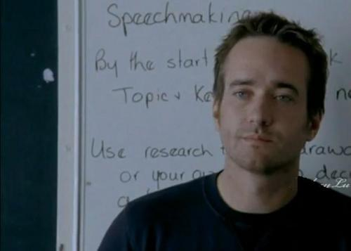 Matthew Macfadyen in In my father's den