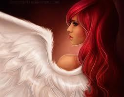 Red headed angel