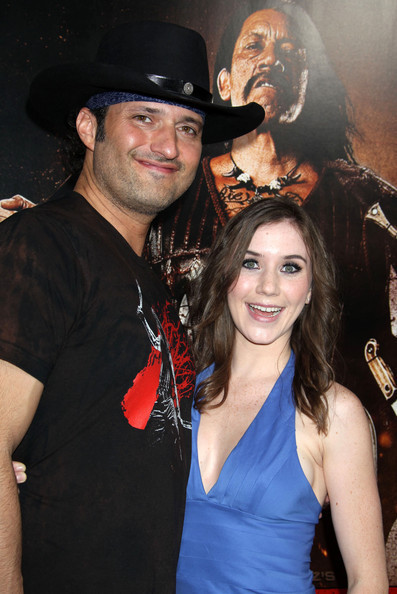 Robert Rodriguez & Marci Madison @ LA Machete Premiere - 25 AUG