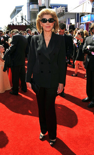 Christine at the Emmy Awards 2010