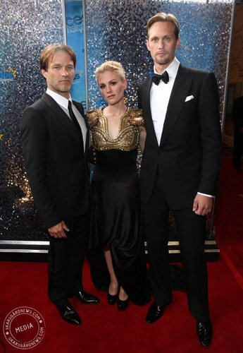 Emmy Awards 2010 - Alex, Anna and Stephen