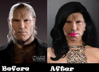 Fenrir Greyback Gets a Makeover!