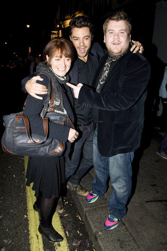 James Corden at Groucho Nightclub (October 22)