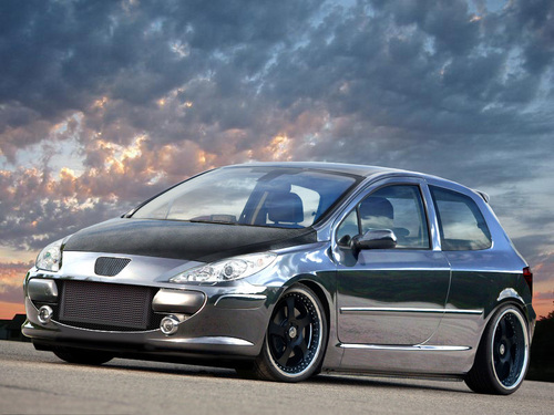 PEUGEOT 307 FULL CHROME